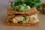 Quarterback Quesadilla Stacks