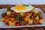 Pecan and Pumpkin Hash