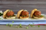 Manhattan Meatball Sliders