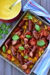 Beef Sausage and Tomato Ratatouille