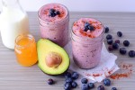Spicy Wild Blueberry, Chipotle, & Avocado Smoothie #WildYourSmoothie Contest