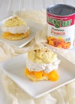 Lucky Leaf Holiday Peach Chai Shortcakes