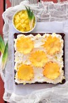 Pineapple Flower Brownies